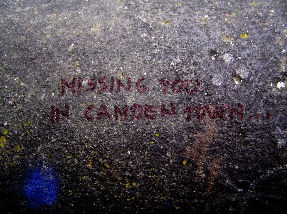 missing you in camden town