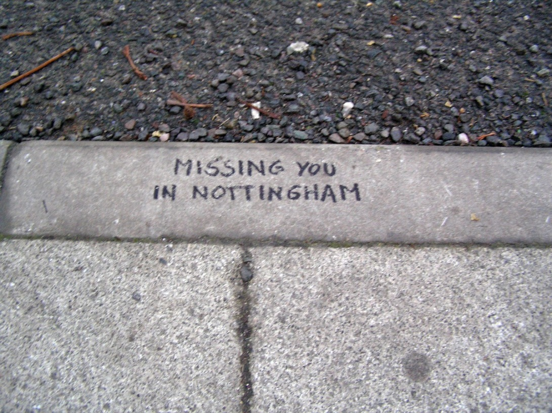 missing you in nottingham