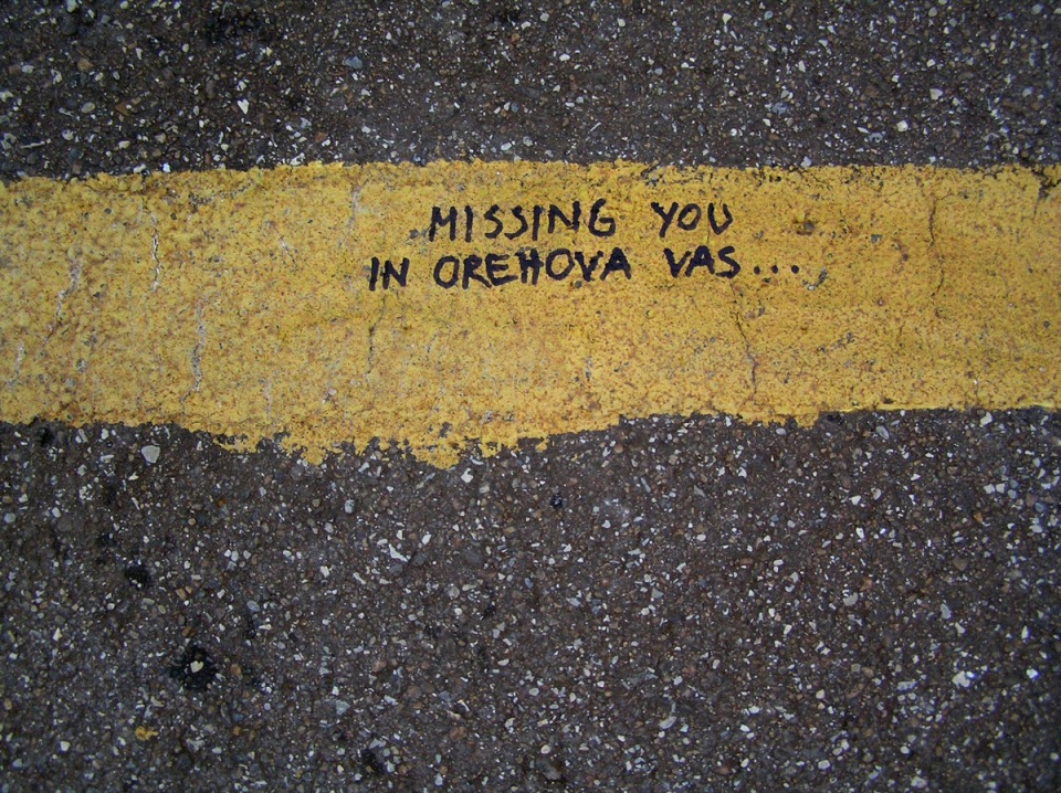 missing you in orehova vas